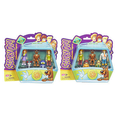 Scooby Doo Mystery Minis 5 Figure Pack Choice of Packs NEW (One Supplied)