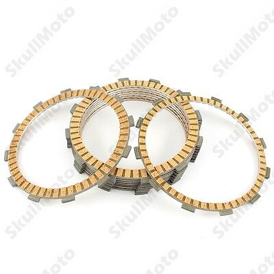 9pcs High Performance Clutch Friction Plate Kit 4 Harley Dyna Softail 1998-2017