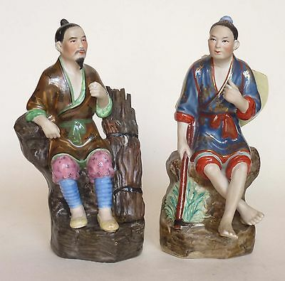 2 x Chinese Republic Period Porcelain Figures - Both Signed!