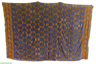 Kente Handwoven Cloth Asante Ghana Large African Art SALE WAS $450