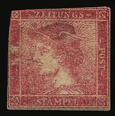 Austria  1851  Imperf  Rarity  With  Very  High  Cat  Value  Spacefiller