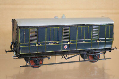 Lawrence Scale Mallard Models O Gauge Kit Built S&djr 4 Wheel Luggage Coach 217