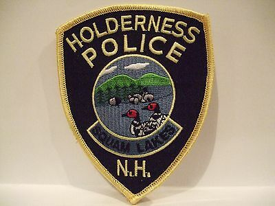 police patch   HOLDERNESS SQUAM LAKES POLICE  NEW HAMPSHIRE