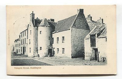 Haddington - Sidegate Street - 1932 used East Lothian postcard