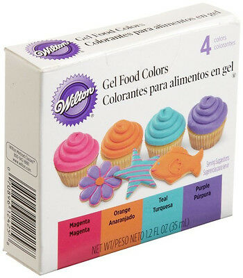 Neon Gel Food Color Set 4 ct. from Wilton #2425