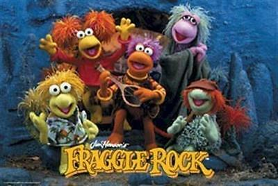 FRAGGLE ROCK ~ CAST 24x36 POSTER Muppets Jim Henson NEW/ROLLED!