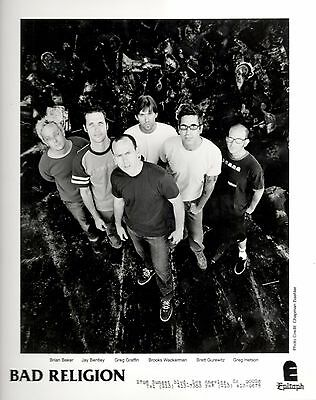 Bad Religion, Two 8 x 10 inch Press Photos both for $10.99