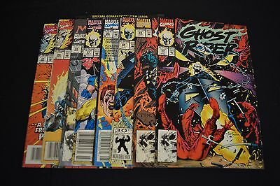 Ghost Rider 2nd Series Comic Books 8 Lot 22 23 24 25 27 27 28 29 37 FN NM