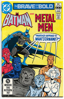 The Brave And The Bold 187 1st Series DC 1982 NM Batman Metal Men