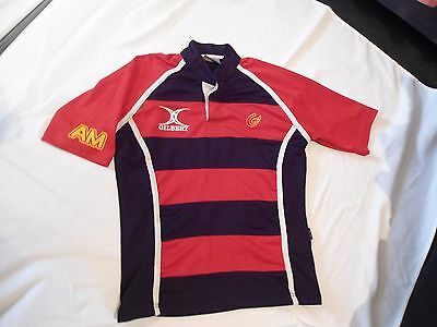 Newport Gwent Dragons Wales Players Issue Rugby Shirt Small