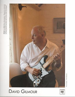 David Gilmour 8x10 inch Press Photo