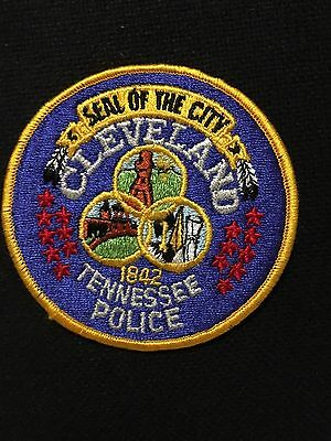 Cleveland Tennessee  Police  Shoulder  Patch