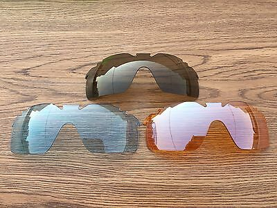 Polycarbonate  Replacement Lenses for Oakley Radarlock XL-option choice colors