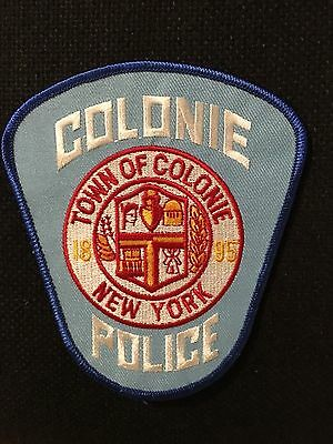 Colonie New York  Police  Shoulder Patch