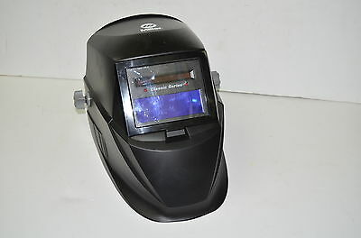 Miller Auto-Darkening Welding Helmet Variable Shade Classic Series Black