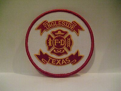 fire patch  INGLESIDE    FIRE DEPT   TEXAS