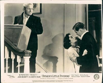Father's Little Dividend Elizabeth Taylor Tracy Lobby