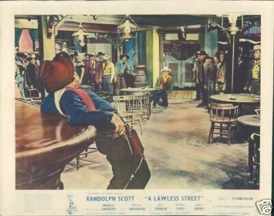 Randolph Scott A Lawless Street 1955 Lobby Card
