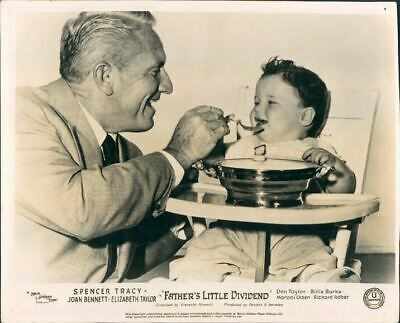 Father's Little Dividend  Lobby Card Spencer Tracy Baby