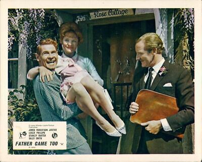 Father Came Too Stanley Baxter Sally Smith Lobby Card