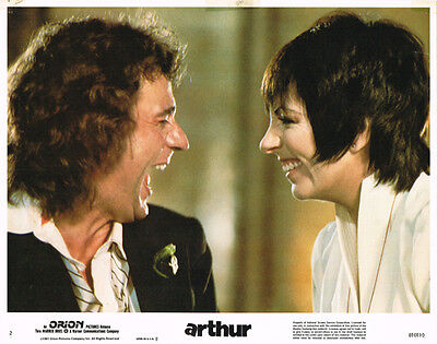 Arthur Dudley Moore Liza Minelli Laughing Original Lobby Card