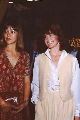 Jenny Agutter Linda Gray Candid 35Mm Slide Photo Orig