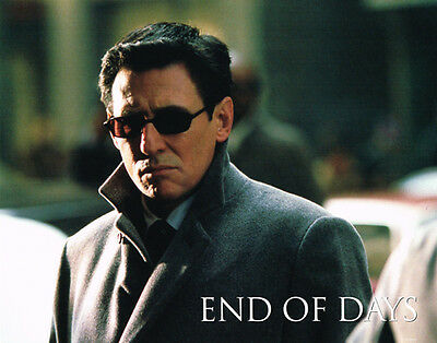 End Of Days Original 11X14 Lobby Card Gabriel Byrne Portrait Photo Mint
