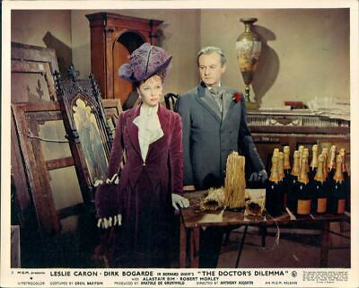 The Doctor's Dilemma Leslie Caron John Robinson Original Lobby Card #9