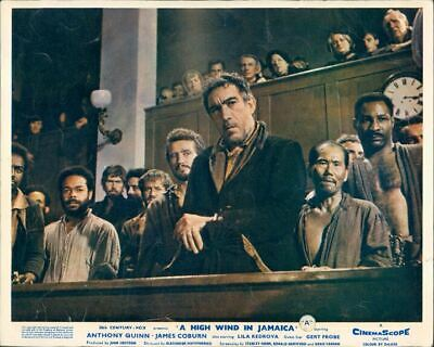 High Wind In Jamaica Anthony Quinn In Court Scene Lobby