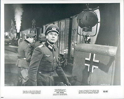 The Train  Original Photo 1965 Paul Scofield Vintage Steam Train