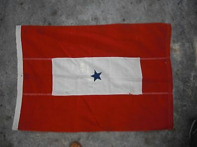 WWII large Son in Service flag/banner, possibly home made