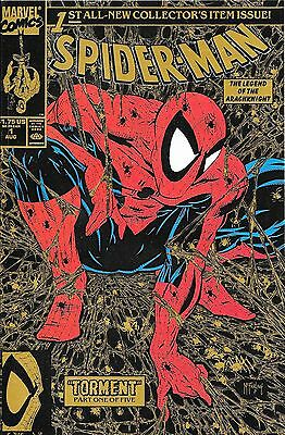 Spider-Man No.1 / 1990 Gold Variant Cover / Todd McFarlane