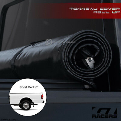 Lock&roll Soft Tonneau Cover 1983-2011 Ford Ranger/mazda B-Series 6 Ft Short Bed