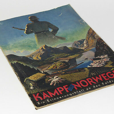 German Wehrmacht Campaign in Norway 1940 WW2 Norge Narvik Bergen Oslo Arendal