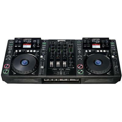 [Reconditionné] Pro 2X Platine Cd Dj Gemini Cdmp-7000 Controleur Midi Mp3 Usb Sd