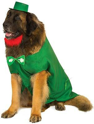 Leprechaun Big Dogs Irish St. Patrick's Day Fancy Dress Halloween Pet Costume