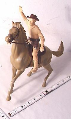 "MARX THE ROY ROGERS OFFICIAL 8"" HORSE AND RIDER SET 1950s"