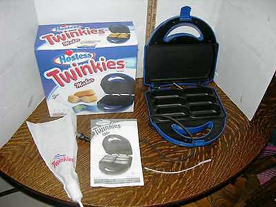 HOSTESS TWINKIES Electric Home Maker Twinkie Baker & Recipes Make your Own  !!