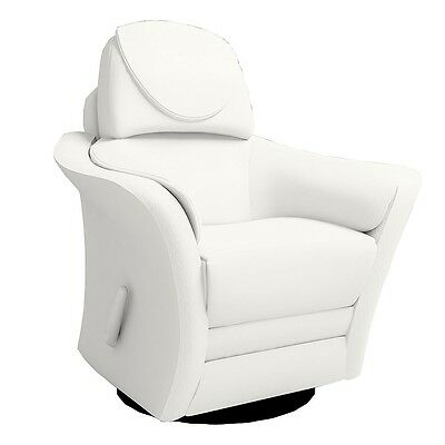 Kidiway Ergo Leather Glider - White