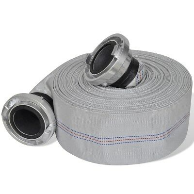 """New 20/30 m 3"""" Fire Hose with B-storz Aluminium Couplings Coupled Flat Hose Tool"""