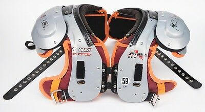 """Riddell Power CPX Football Shoulder Pads Size - 20""""-21"""""""