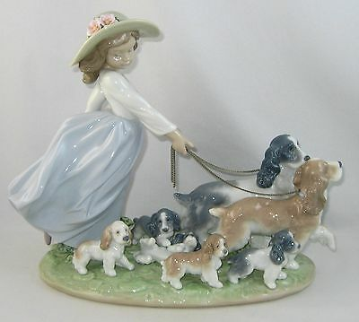 "2001 Lladro Privilege Society Figurine 6784 ""PUPPY PARADE"" w/Original Box"