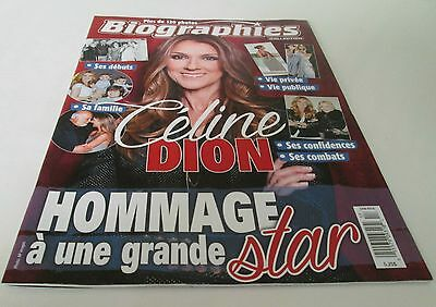 Celine Dion Biographie Special Edition 62 Pages Biography 120 Photos
