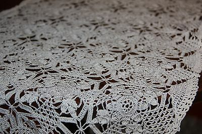 crochet lace table runner vintage doilie 80 cm x 30 cm vintage lace item no: 21