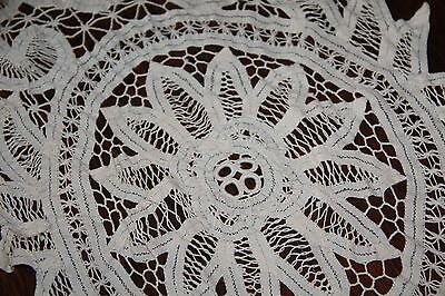 crochet lace table runner vintage doilie 80 cm x 30 cm vintage lace item no: 23