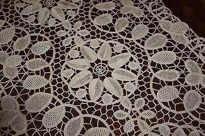 crochet lace table runner vintage doilie 100 cm x 40 cm vintage lace item no: 24