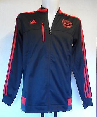 Bayer Leverkusen 2015/16 Anthem Jacket By Adidas Size Adults Large Brand New