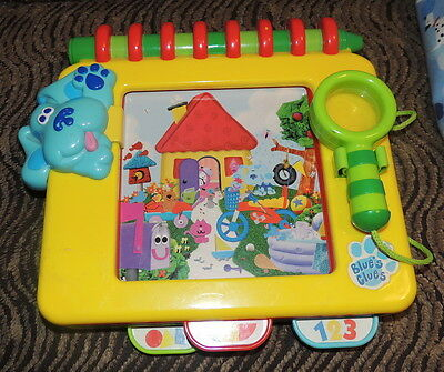 1998 Blues Clues Handy Dandy Notebook Game ~ Look Seek And Find ~ Toy Tyco