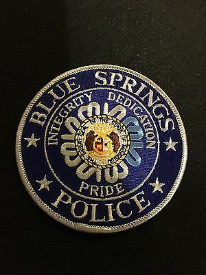Blue Springs Missouri Police  Shoulder Patch
