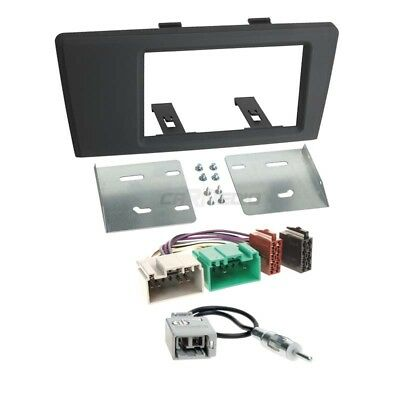 Volvo S60 (R/H) 00-03 2-Din Car Radio Installation Set + Cable, Adapter,